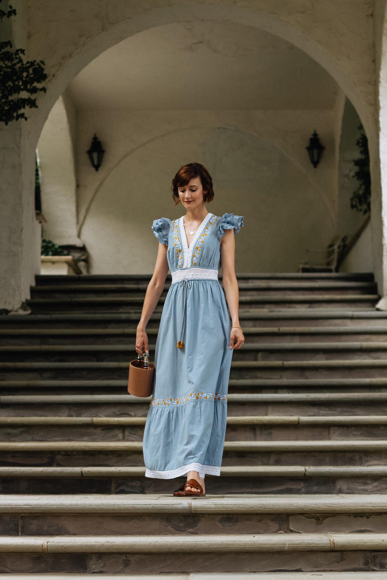 Saylor maxi dress