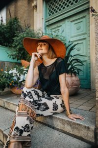 & Other Stories oversized fedora