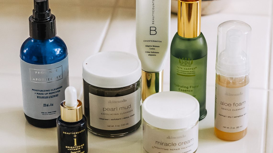 Clean Beauty Skincare Products