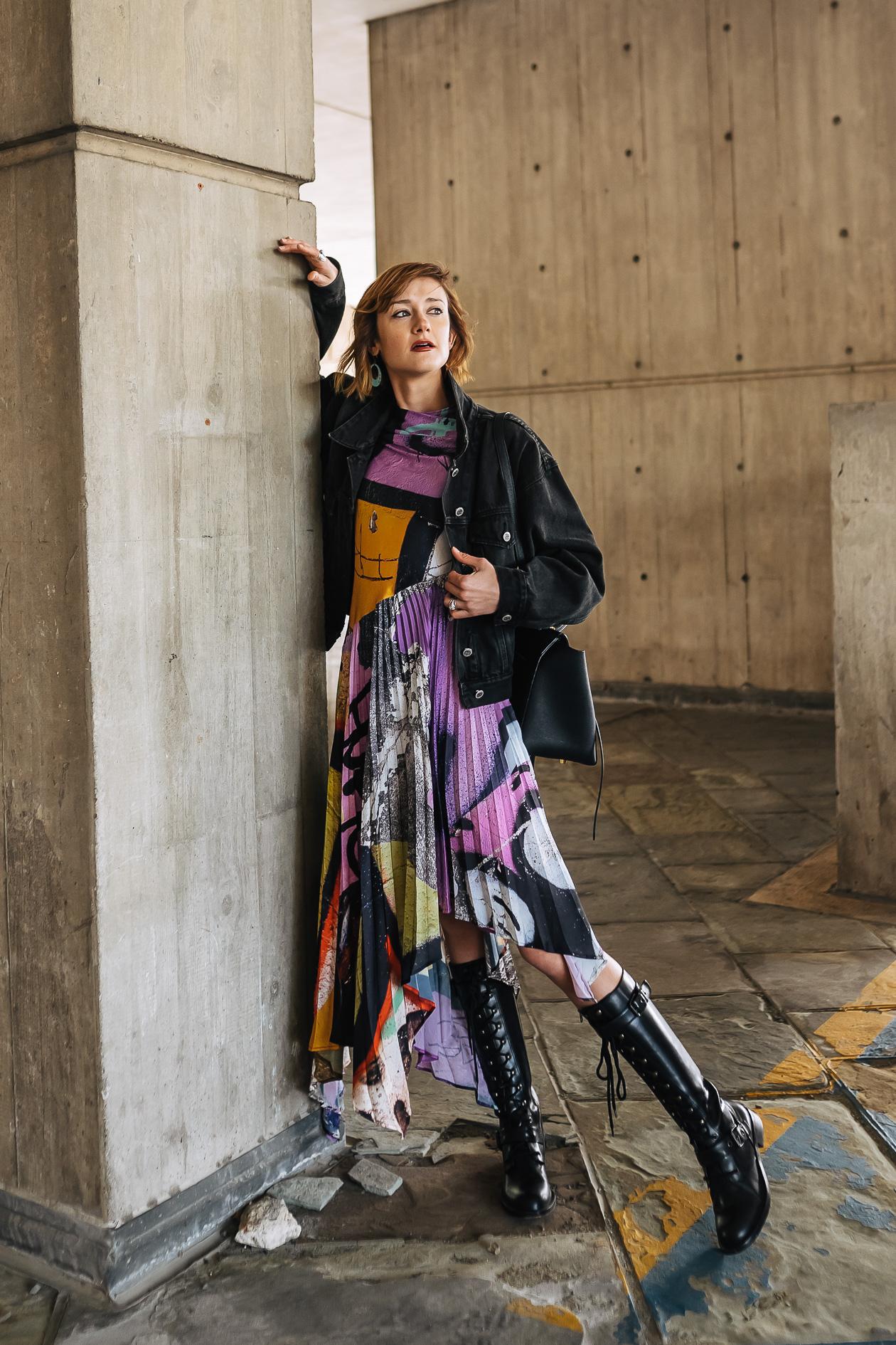 Marques Almeida graffiti dress