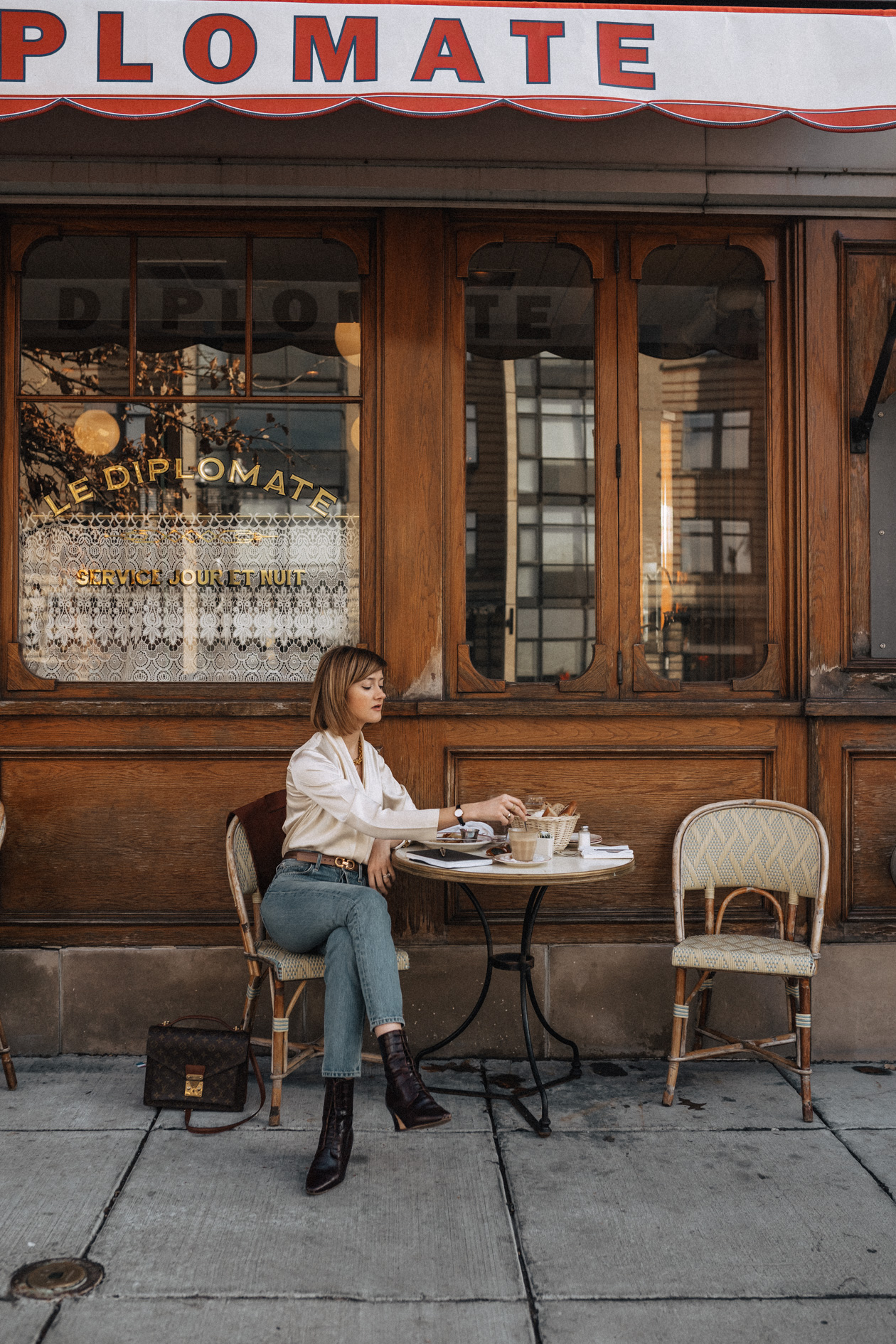 chic French cafe in Washington, DC