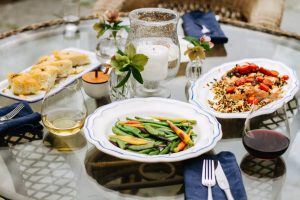 "plan a ""night out"" dinner at home"