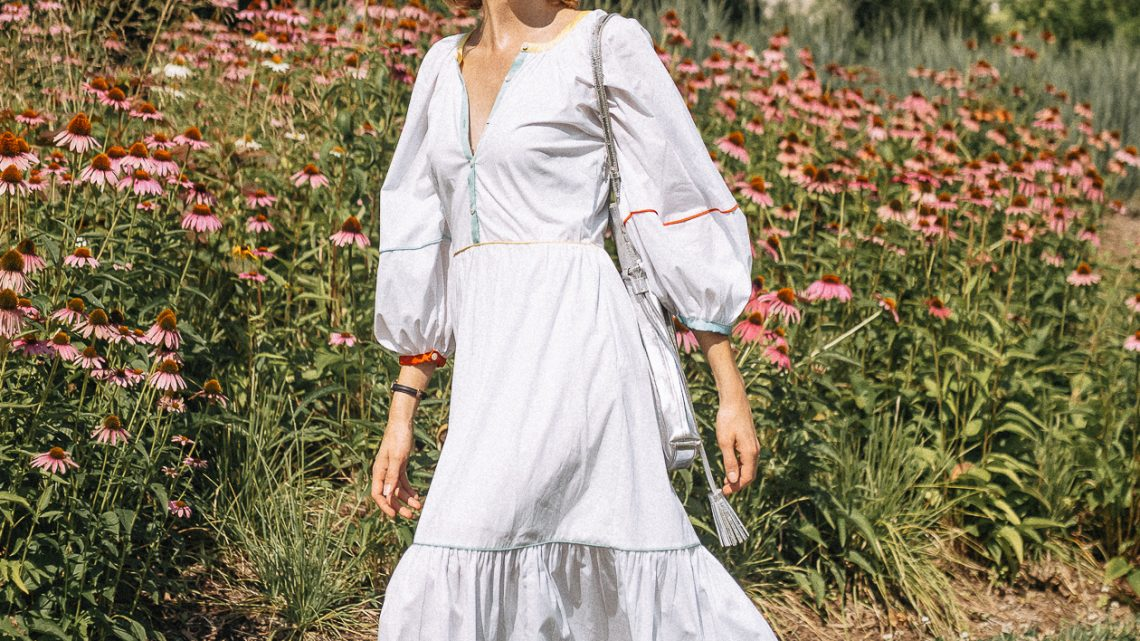 shop & style white maxi dress