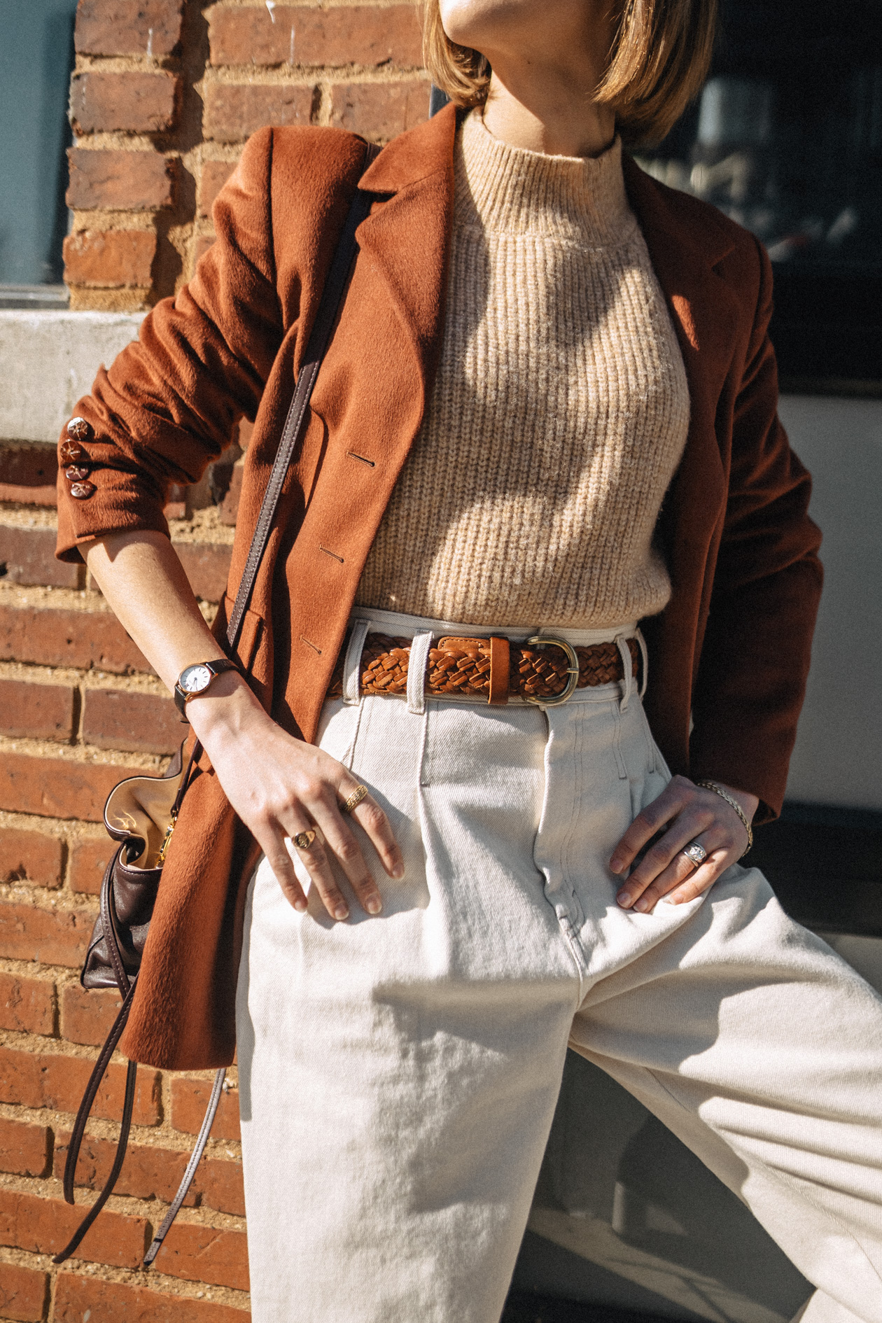 fall trend: rust blazer