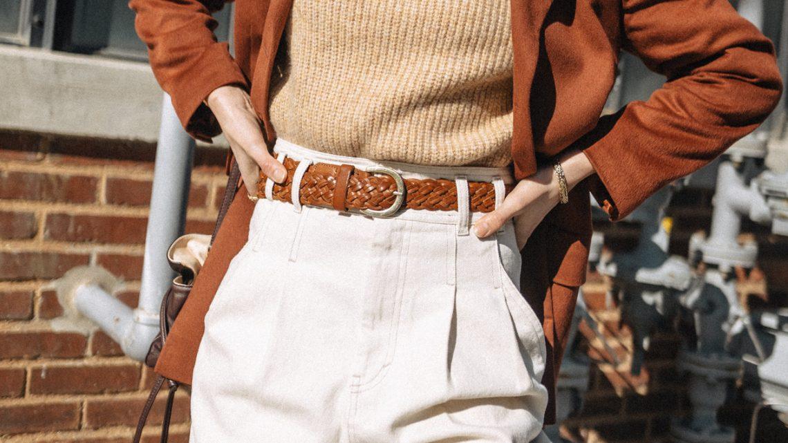fall trend: rust blazer