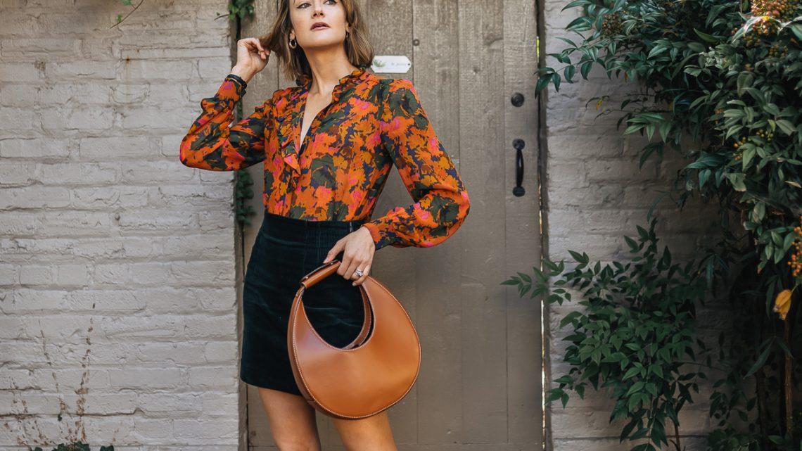 Sezane fall outfit