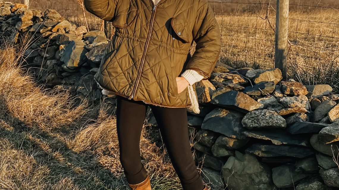 quilted coat outfit ideas