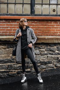 cool activewear street style outfit