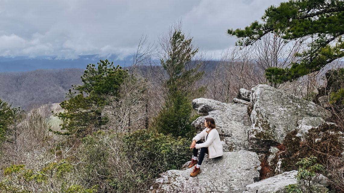 Flag Rock Trail, Warm Springs, Virginia