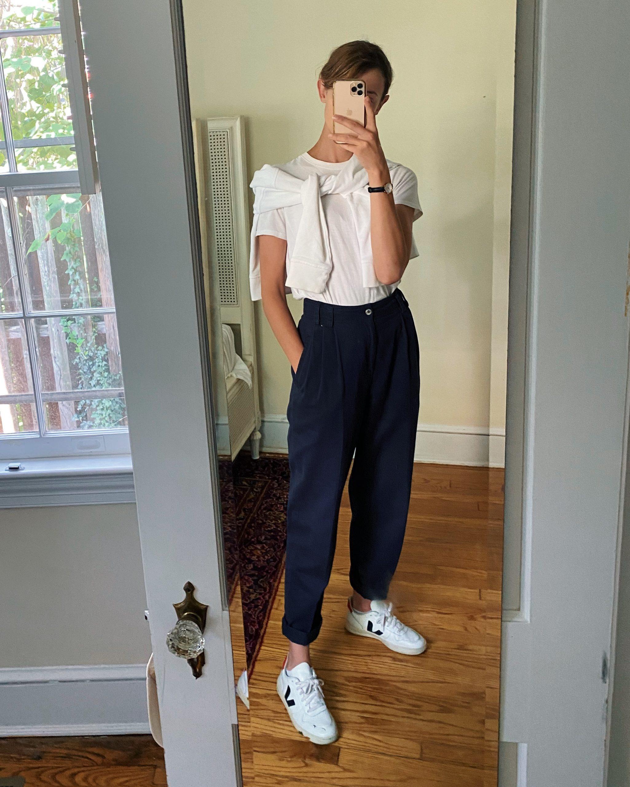 school drop off outfit idea